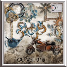 Vol. 915 Steampunk Mix by Doudou Design