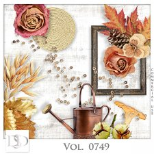 Vol. 0749 Autumn Nature Mix by D's Design