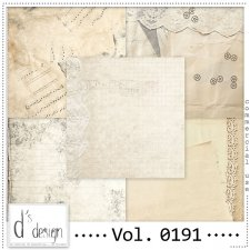 Vol. 0191 Vintage Papers by Doudou Design