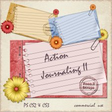 Action - Journaling II by Rose.li