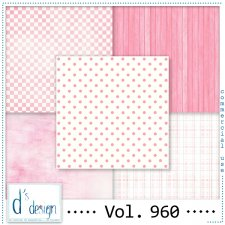 Vol. 960 Fifties Papers by Doudou Design