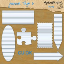Journal Tags 6 by Mandog Scraps