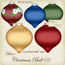 Action - Chirstmas Ball III by Rose.li