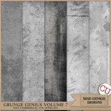 Grunge Genius Volume Seven by Mad Genius Designs