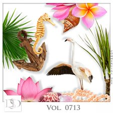 Vol. 0713 Tropical Sea Mix by D's Design