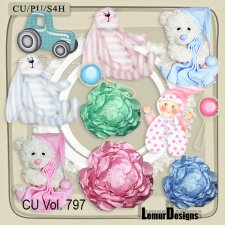 CU Vol 797 Baby Mix by Lemur Designs