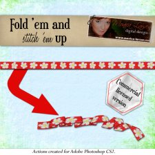 Fold'em and Stitch'em up by Monica Larsen