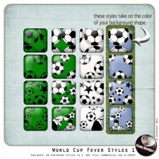 World Cup Fever Styles 1 by MoonDesigns