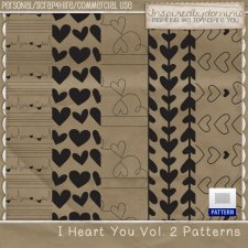 I Heart You Patterns Vol 2