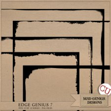 Edge Genius Volume Seven by Mad Genius Designs