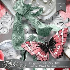 Designer Stash Vol 109 Winter Mixed Beauties - by Feli Designs