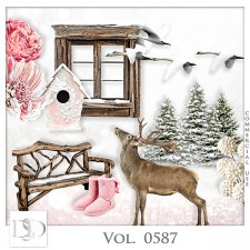 Vol. 0587 Winter Mix by D's Design