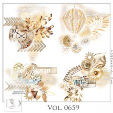 Vol. 0659 Steampunk Accents by D's Design