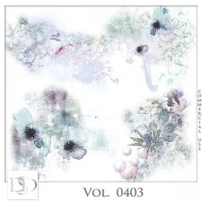 Vol. 0403 Floral Accents by D's Design