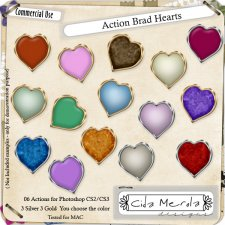 Brad Hearts 01 Action by Cida Merola