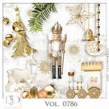 Vol. 0786 Winter Christmas Mix by D's Design