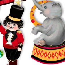 Vol. 494 Circus Mix by Doudou Design