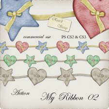 Action - My Ribbon 02 by Rose.li