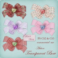 Action - Transparent Bow by Rose.li