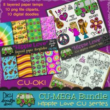 Hippie Love CU MEGA bundle