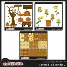 EXCLUSIVE Layered Fall Templates BUNDLE 2 by NewE Designz