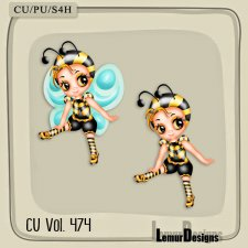CU Vol 474 Sweet Bee by Lemur Designs