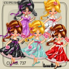 CU Vol 737 Girls by Lemur Designs