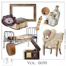 Vol. 0690 Vintage Mix by D's Design
