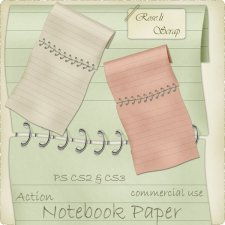 Action - Notebook Paper by Rose.li