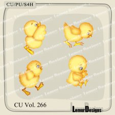CU Vol 266 Animals Chick 3 by Lemur Designs