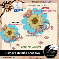 Remove Outside Shadows ACTION by Boop Designs