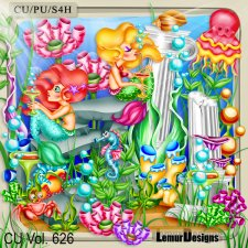 CU Vol 626 Ocean Stuff by Lemur Designs