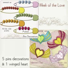 Action - Week Of The Love BUNDLE by Rose.li