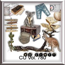 Vol 780 Travel World by Doudou Design