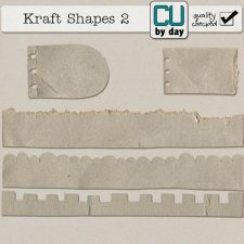Kraft Shapes 2 - CUbyDay EXCLUSIVE