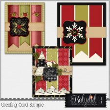 Greeting Cards Layered Templates Pack No 1