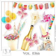 Vol. 0366 Party Mix by D's Design