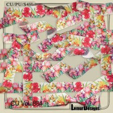 CU Vol 884 Ribbons by Lemur Designs