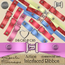 Action - Interlaced Ribbon by Rose.li