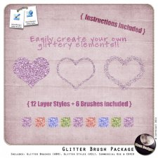 Glitter Brush Package by MoonDesigns
