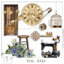 Vol. 0341 Vintage Mix by D's Design