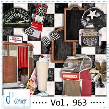 Vol. 963 Fifties Mix by Doudou Design