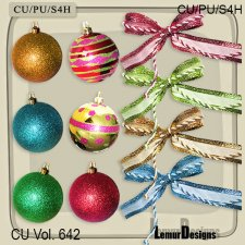 CU Vol 642 Christmas Stuff by Lemur Designs