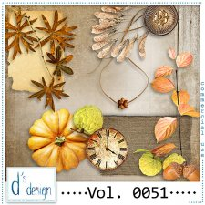 Vol. 0050 to 0052 Autumn Mix by Doudou Design