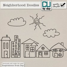 My Neighborhood Doodles - CUbyDay EXCLUSIVE
