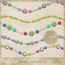 Bead Action 2 by Josy