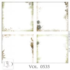 Vol. 0535 Nature Autumn Overlays by D's Design