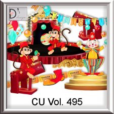 Vol. 495 Circus Mix by Doudou Design