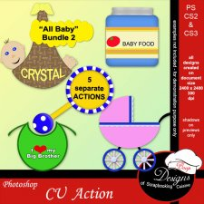 All Baby BUNDLE ACTIONS 2 by Boop Designs