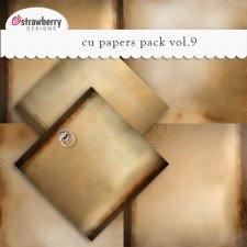 CU Papers Vol 9 Brown by Strawberry Designs